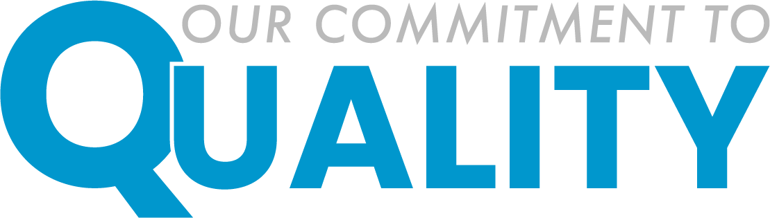 Our commitment logo