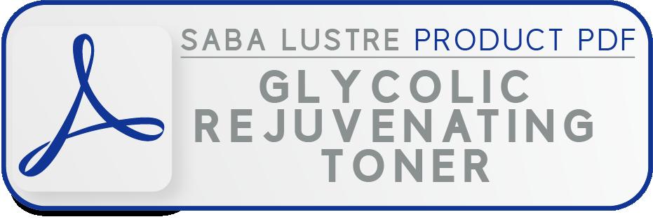 Sl pdf button glycolic rejuvenating toner