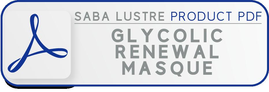 Sl pdf button glycolic renewal masque
