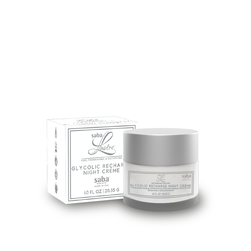 Saba lustre skincare 1.0 oz glycolic recharge night creme800x800 2