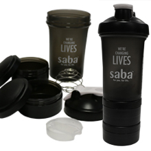 Shaker Bottle 3 Piece