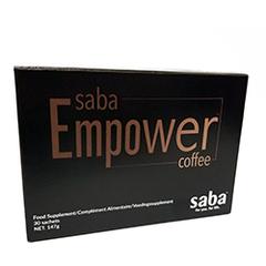 Saba Empower Coffee - Box of 30 Single Servings