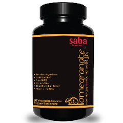 SABA POMEGRANATE PLUS - (2) Two 60-Ct Bottles