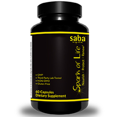 Saba Spark of Life -One 60-count Bottle