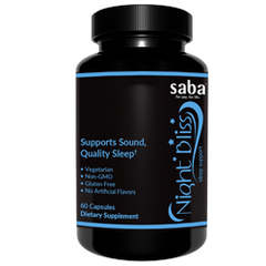 SABA NIGHT BLISS -One 60-count Bottle
