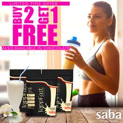 SABA TOPPFAST VANILLA - BUY 2 GET 1 FREE
