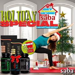 Saba Get Health At Home - HOLIDAY SPECIAL -Vanilla