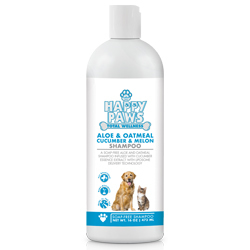 Happy paws aloe and oatmeal shampoo 250x250 %28002%29