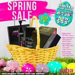 Saba Spring Cosmetic Bundle  Sale