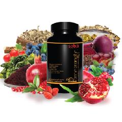 Saba Pomegranate Plus - one 60 - count Bottle (EU GB) Recurring Order