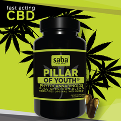 Saba Pillar of Youth - One 30 Count Bottle