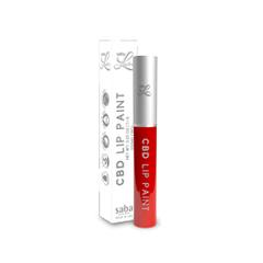 Saba Lustre CBD Lip Paint - Color: ON FIRE