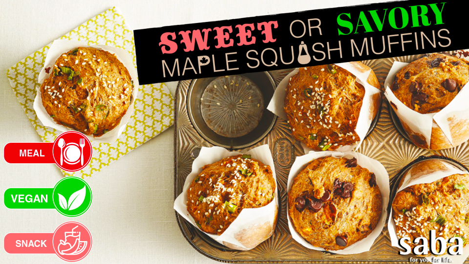 02  sweet or savory maple squash muffins top