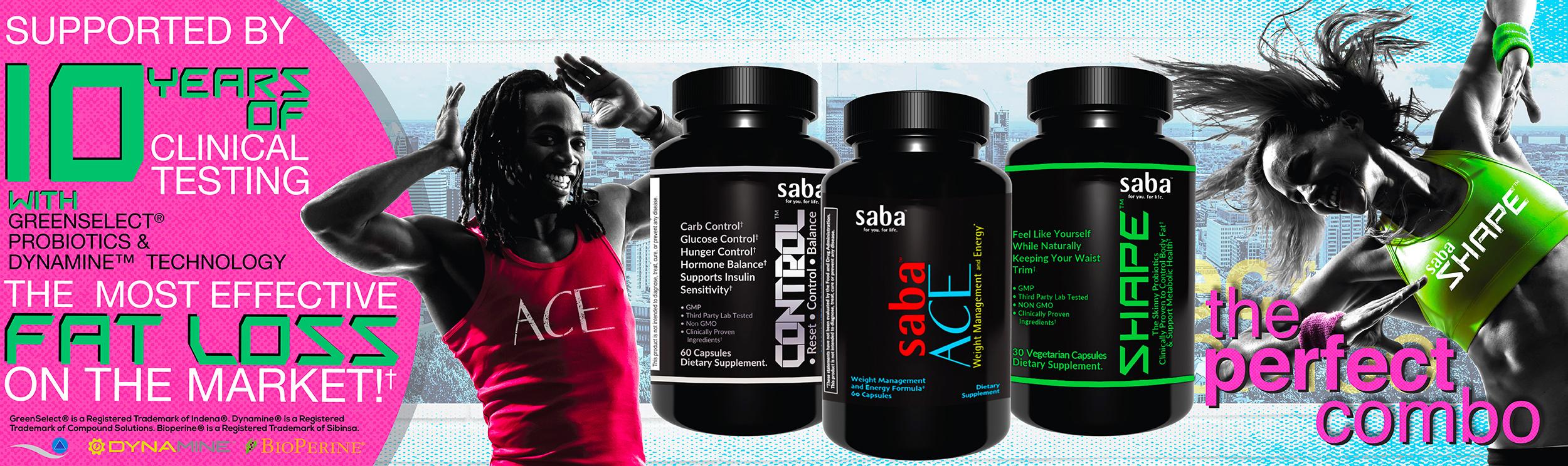 Saba ace shape control best weight management 2500x744
